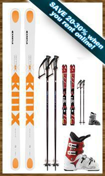 Demo Ski Package w/FREE Kids Package