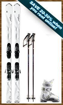 Womens Performance Ski Package w/FREE Kids Package