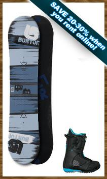 Adult Performance Snowboard Package w/Kids Ski Free