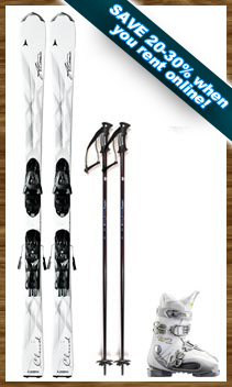 Womens Performance Ski Package