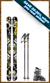 Youth Demo Ski Package